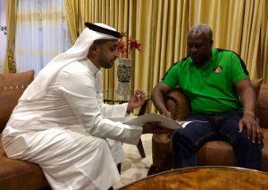 UAE KP Chair Ahmed Bin Sulayem with President of Ghana HE John Dramani Mahama (PRNewsFoto/Kimberley Process)