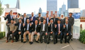 CIOs from the UAE during the 'Silicon Valley Innovation' trip by Smartworld and Cisco