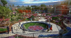 Cityland Mall - Mini Miracle Garden in Central Park
