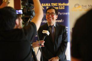 Dr. Julius Cajucom, Urologist and Head of the Robotics Surgery Program at TMC Philippines