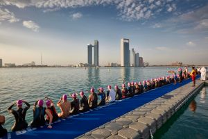 Entries are now open for ITU World Triathlon Abu Dhabi