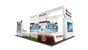 Huawei's Booth at Dubai Solar Show
