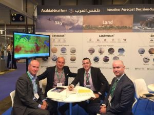 ArabiaWeather Partners with the UK Met Office (PRNewsFoto/ArabiaWeather Inc.)