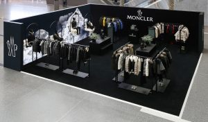Moncler pop-up at HIA