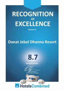 danat-jebel-dhanna-resort-awarded-hotelscombined-recognition-of-excellence
