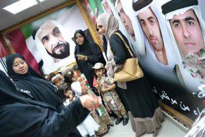 HE Engr. Sheikh Salem Bin Sultan Bin Saqr Al Qasimi, Chairman, RAKDCA, with officials and school children at the National Day celebrations at Ras Al Khaimah 2.RAKDCA celebrates National Day
