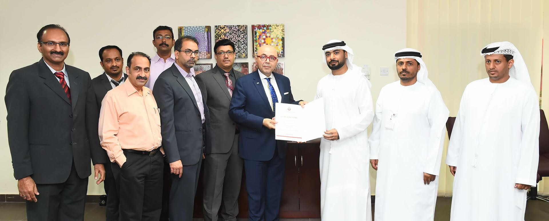 Emirates Float Glass wins environmental, health, safety