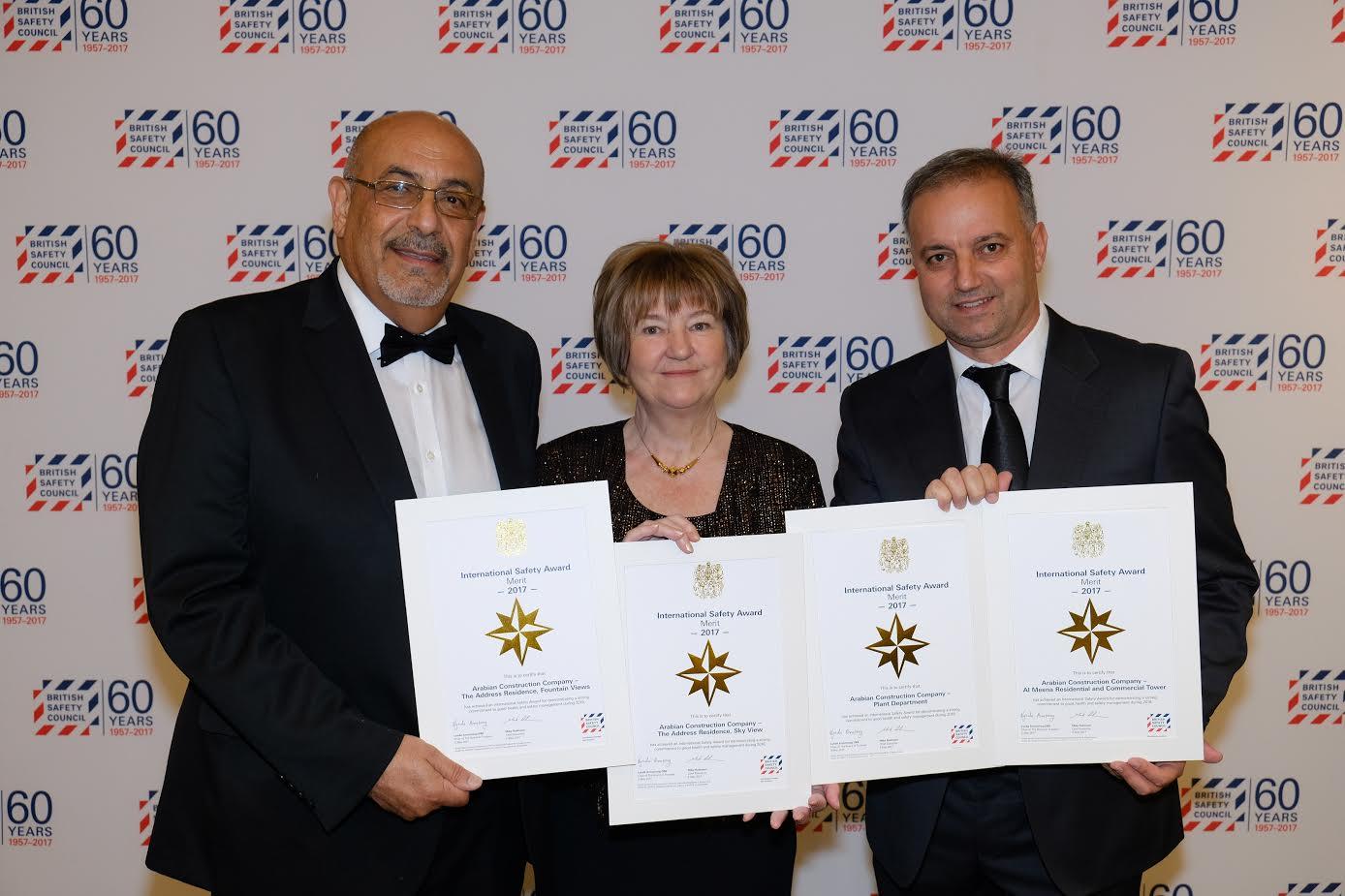 ACC (Arabian Construction Company) Wins International Safety