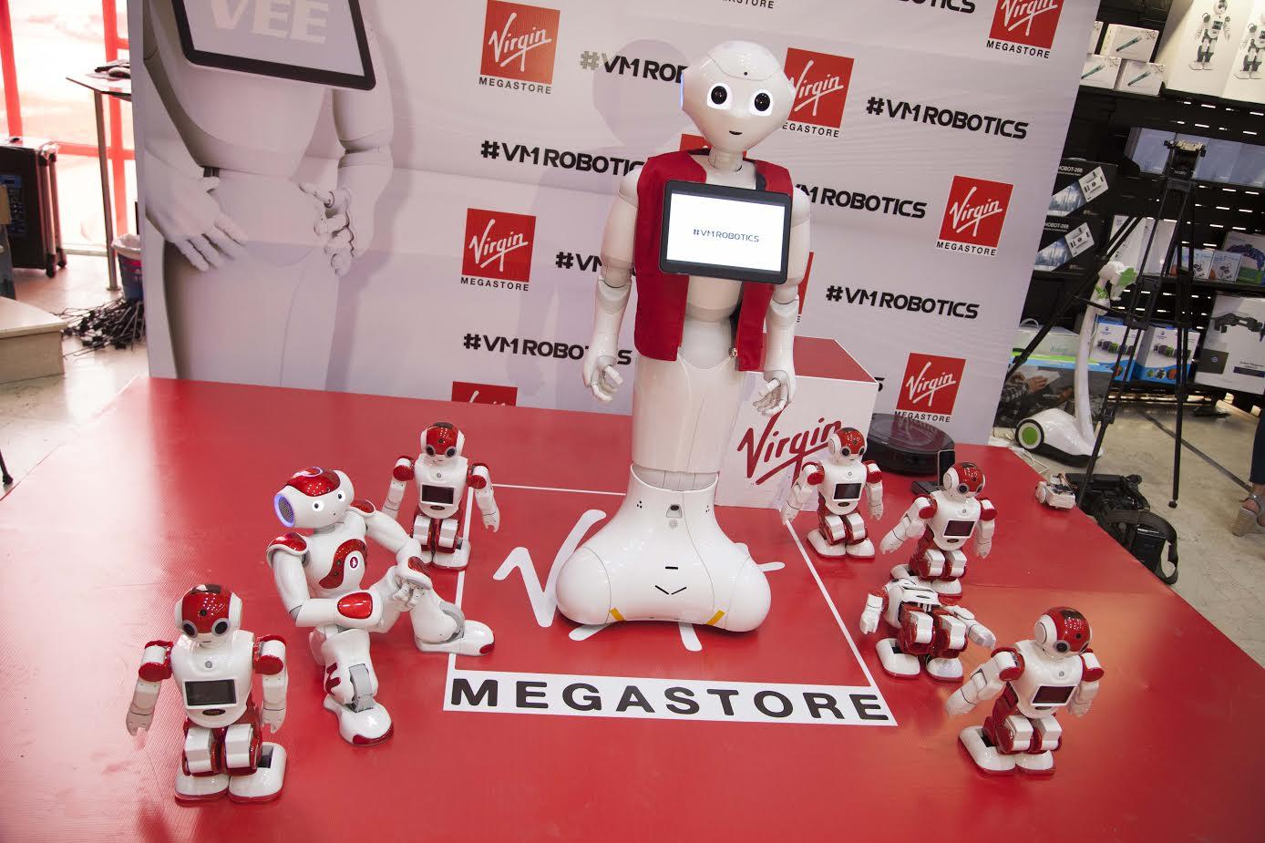 Social Interactive Robotics Land In Virgin Megastore Lebanon Mid