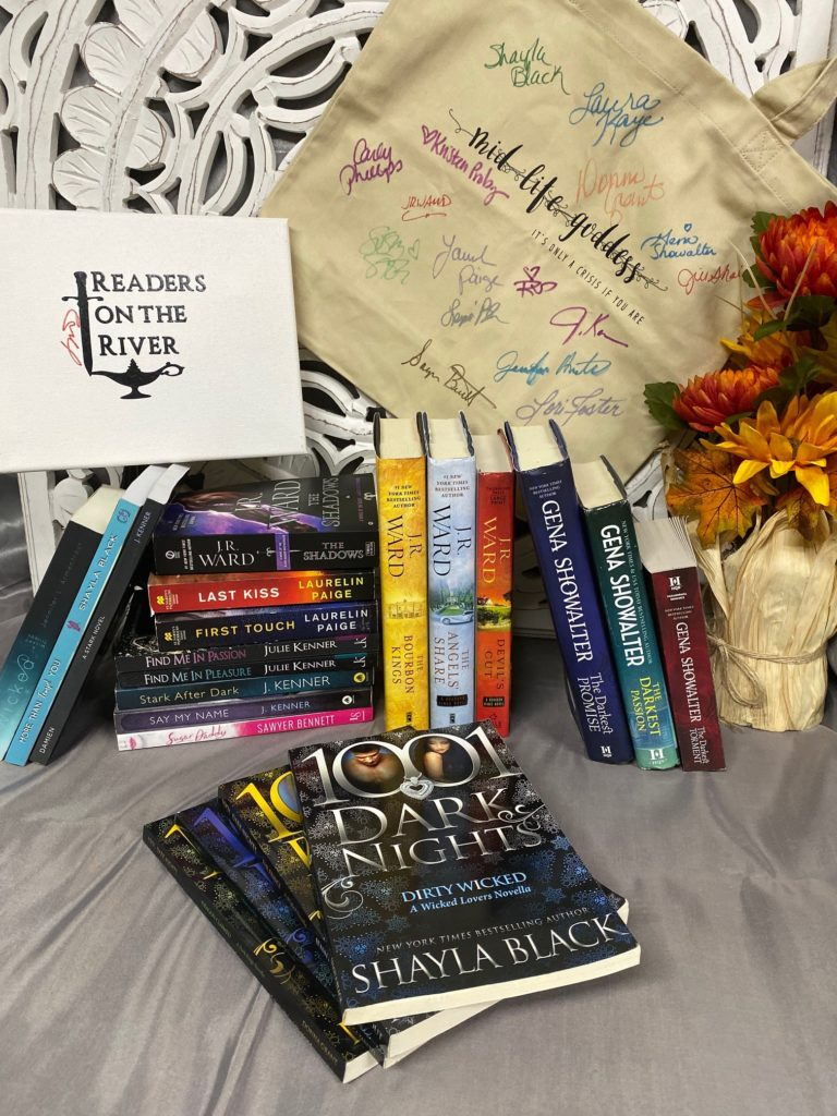 Midlife Goddess book giveaway from JR Ward's Readers on the River event