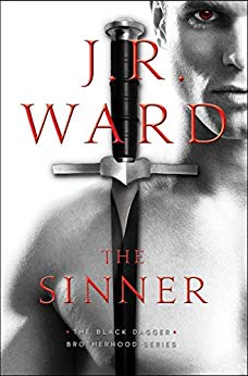 The Sinner upcoming book by JR Ward