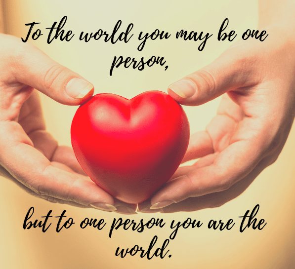 One Person Quote
