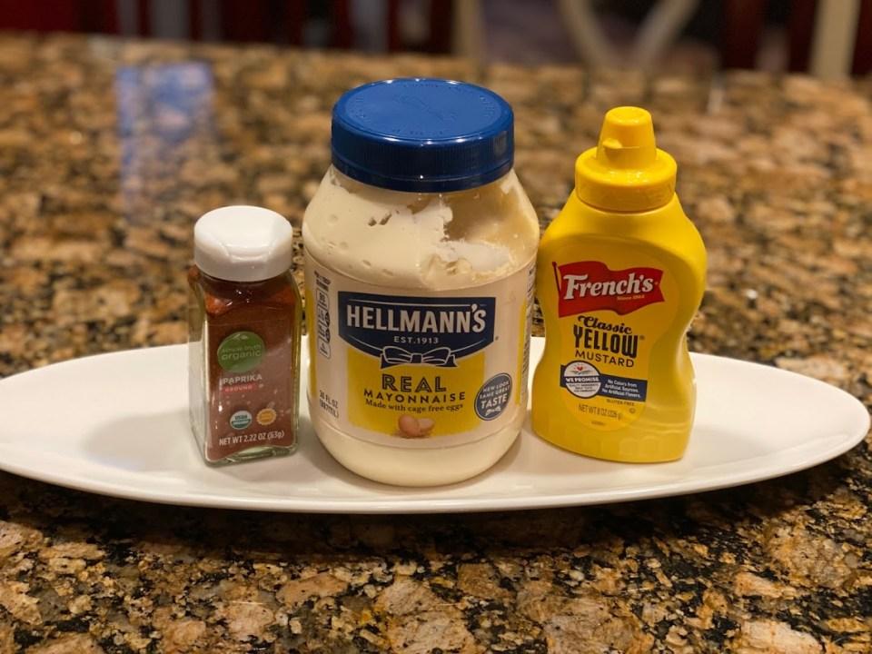 Mayo, Mustard and Paprika