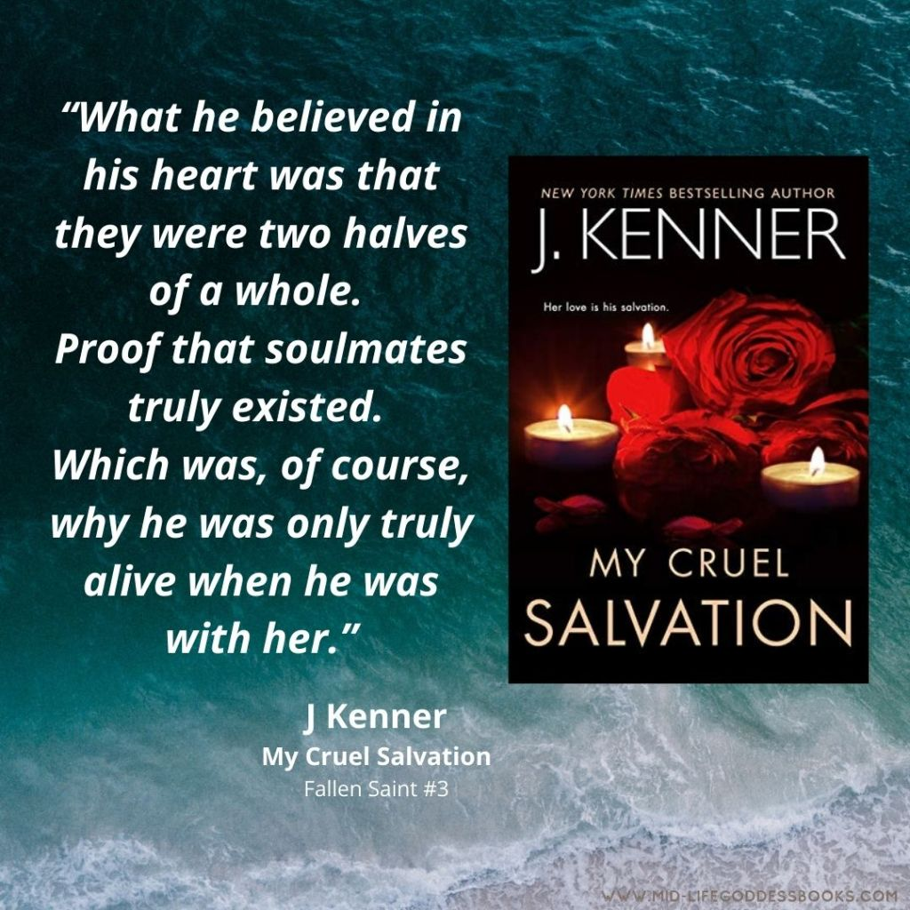 book quote from My Cruel Salvation