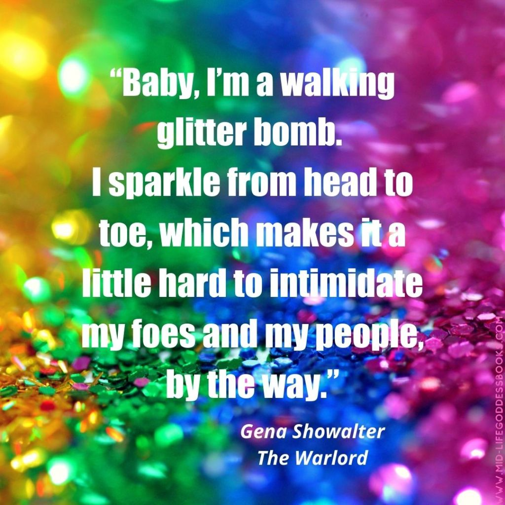 The Warlord Glitter Quote
