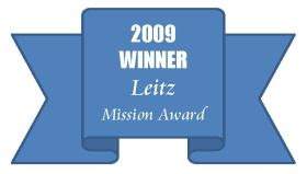 2009 Winner of Leitz Mission Award