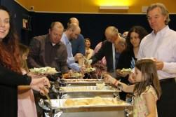 Celebration of Servants Food Line