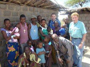 Evangelizing in the bush, 2016 Tanzania