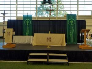 Altar Area Higher Things Conference, 2016
