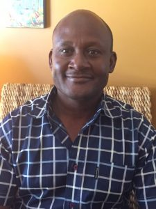 Lafleur Jores, a Trinity/HOPE Feeding Program Director from Port au Prince, Haiti.