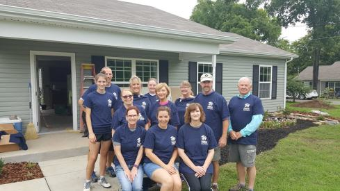 2017 Prince of Peace helps Habitat for Humanity