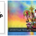 2018 Tournament of Roses Parade float entitled: Bringing Christ to the Nations