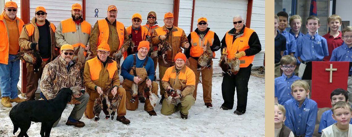 Pheasant Hunters for Main Street Living