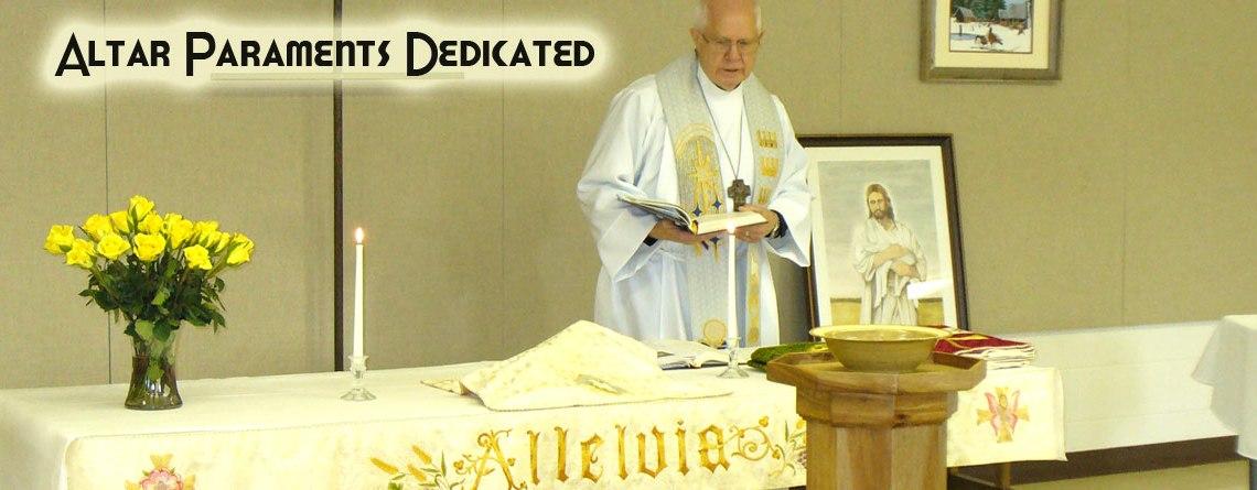Altar Paraments Dedicated