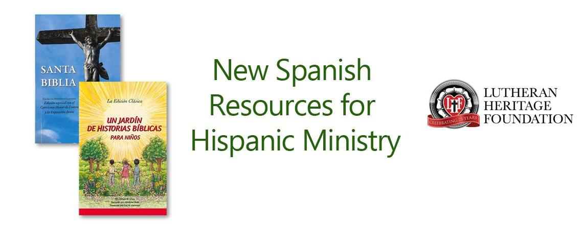 New Spanish resources for Hispanic Ministry