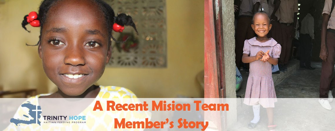 In Her Own Words, One Volunteer's Story from the 2018 Mission Trip