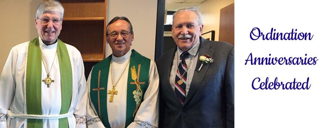 Ordination Anniversaries Celebrated