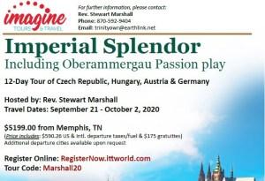 Mid-South Pastor to Host Unique European Tour in 2020