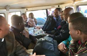 pastors driving to negezi