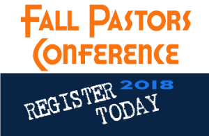 2018 Fall Pastors Conference