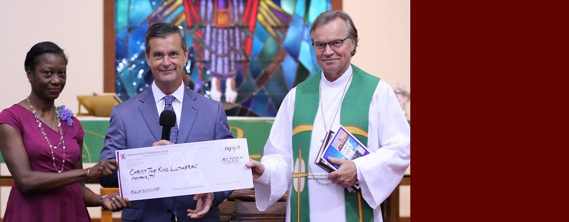 Christ the King in Memphis Receives LCEF Kaleidoscope Grant