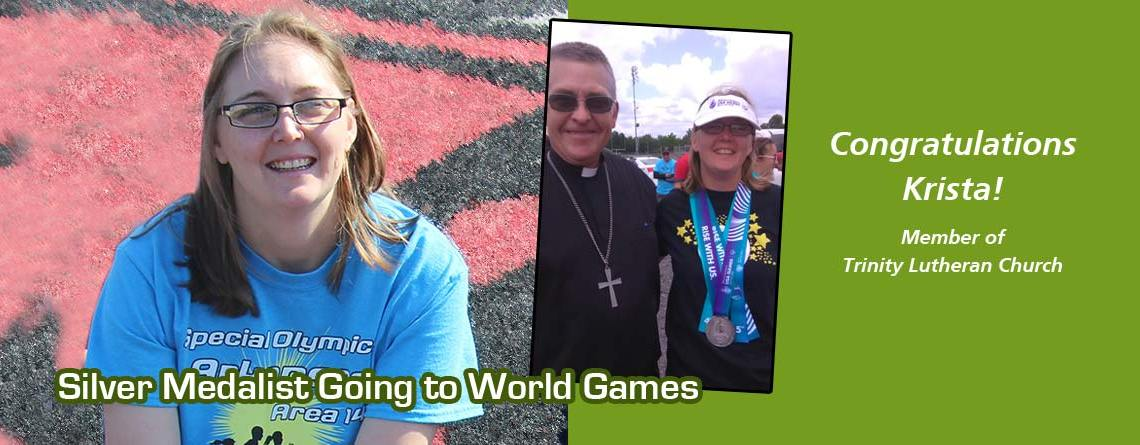 Local Athlete Attending Special Olympic World Games