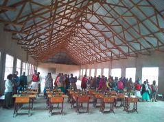 Tanzania-sewing-class-standing