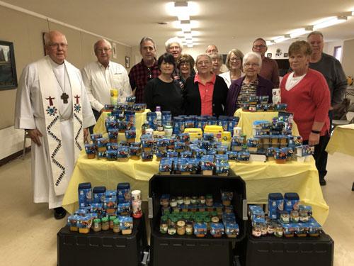 Baby Food Buffet by Chapel of Good Shepherd