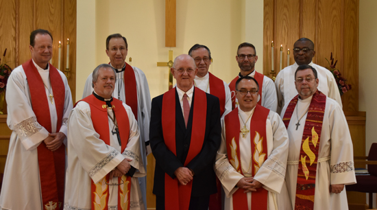 Welcome Rev. Thompson