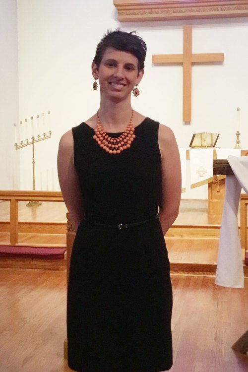 New Principal Installed, Jessie at First Lutheran Knoxville