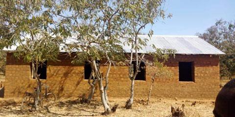 Church built 2019 Tanzania