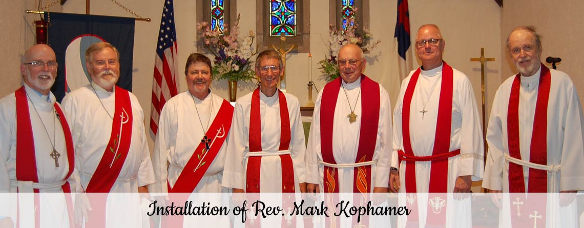 Rev. Mark Kophamer Installed