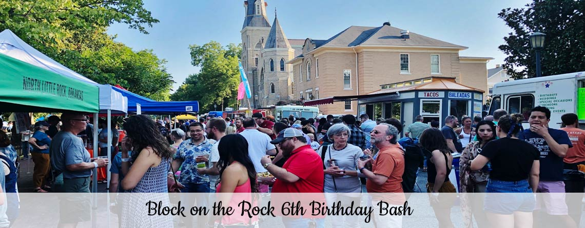 Block on the Rock 6th Birthday Bash