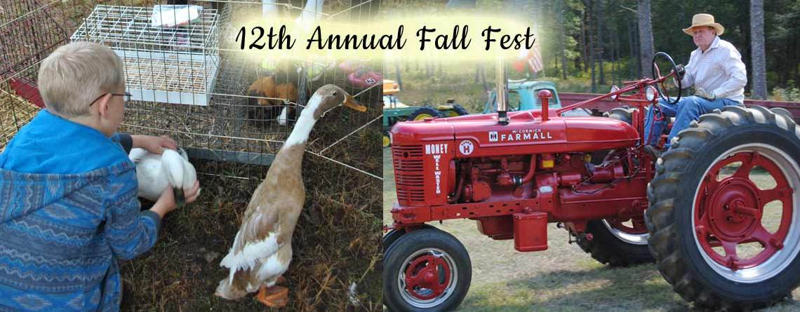 12th Annual Fall Fest – Saturday, October 12
