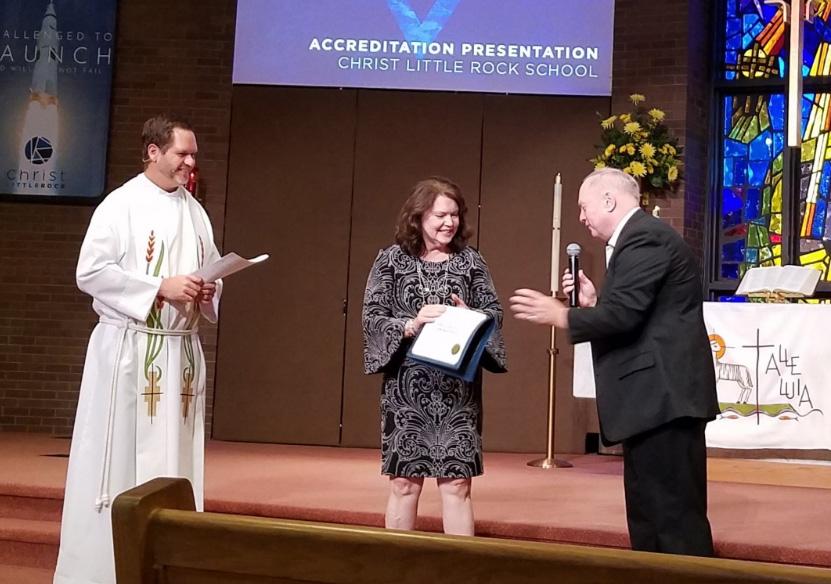 Christ School(Little Rock) Receives Accreditation