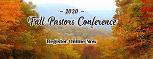 2020 Fall pastors conference