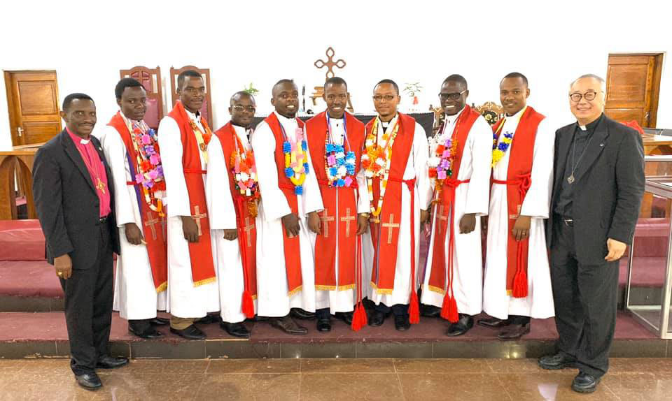 Dr. Bishop Emmanuel Joseph Makala, Timotheo Msengi, Jacob Kashinje, Ignace Kanamugire, Antidius Cosmas Kabuyanja, Magnus Matoli, and Ibrahim Kipiki, Dr Naomichi Masaki.