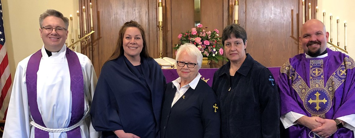 Grace Lutheran Commissions and Installs New Deaconess