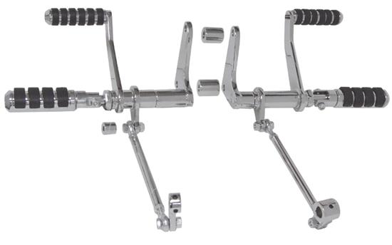 MID-USA Motorcycle Parts. CUSTOM FORWARD CONTROL KITS FOR