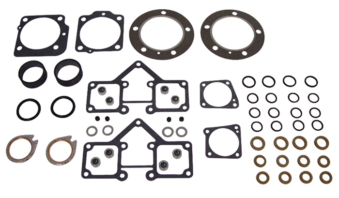 MID-USA Motorcycle Parts. TOP END GASKET AND SEAL SET FOR